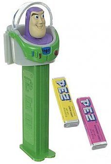 Buzz Lightyear PEZ Toy Story Candy Dispenser