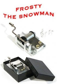 Frosty the Snowman Music Box 1950