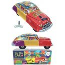 Circus Wagon Windup Tin Toy Car