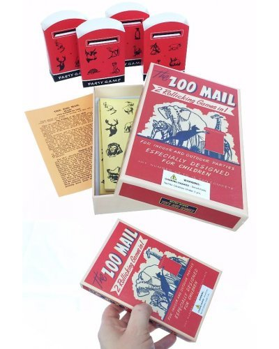 Zoo Mail Family Party Game UK 1950
