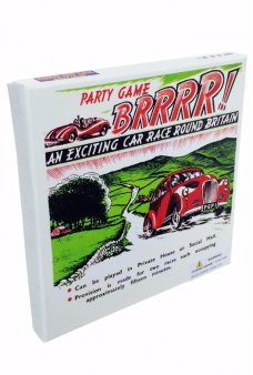 BRRRR! British Car Race Game 1950