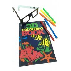 3D Coloring Book Science Kit