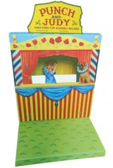 Punch and Judy Theatre Set UK 1920