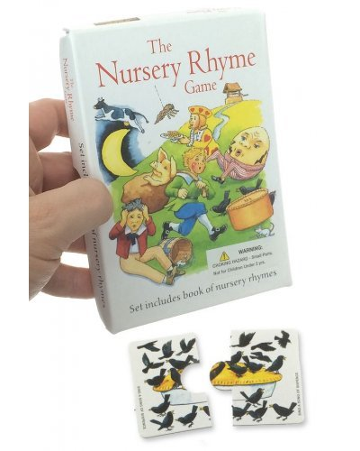 Nursery Rhyme Game Puzzle UK 1950