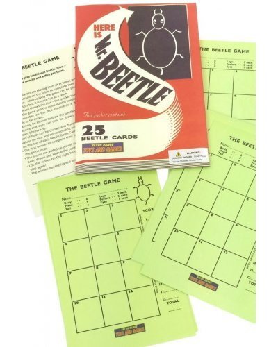 Mr Beetle English Party Game UK 1930