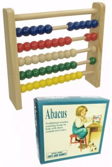 Abacus Toy Ancient Wooden Calculator