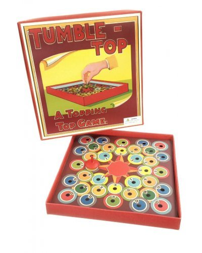 Tumble Top English Wooden Top Game
