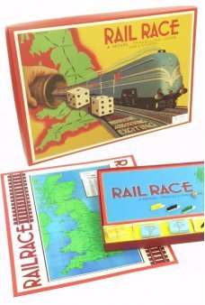 Rail Race Around Britain Game 1940