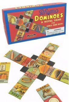 Rhymo Dominoes Educational Game 1940