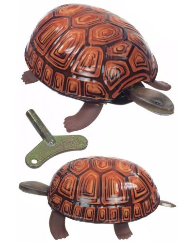 Walking Tortoise Tin Toy 1930 Original