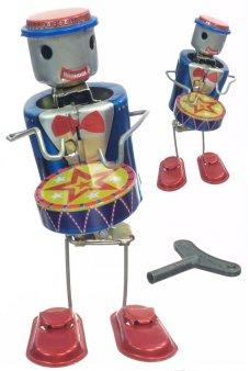 Proto the Robot Drummer Tin Toy