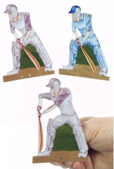 Cricketer Clicker UK Batsman Action Tin Toy