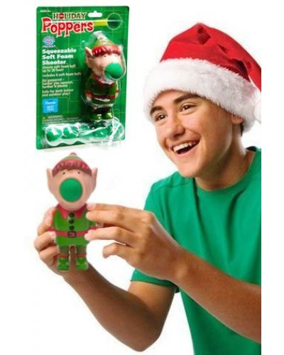 Holiday Elf Popper Soft Shooter