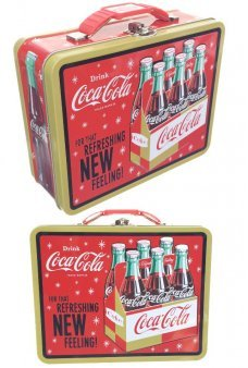 Coca Cola Tin Lunch Box 6 Pack 1962