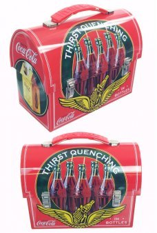 Coca Cola Tin Lunch Box Thirst Quenching