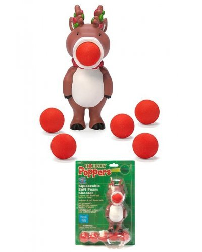 Holiday Reindeer Popper Soft Shooter