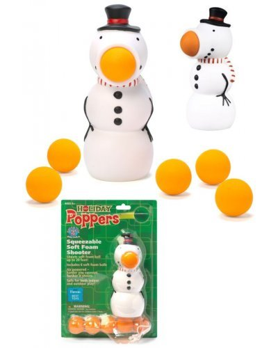 Holiday Snowman Popper Soft Shooter