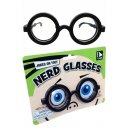 Nerd Glasses Round Specs Black Frames