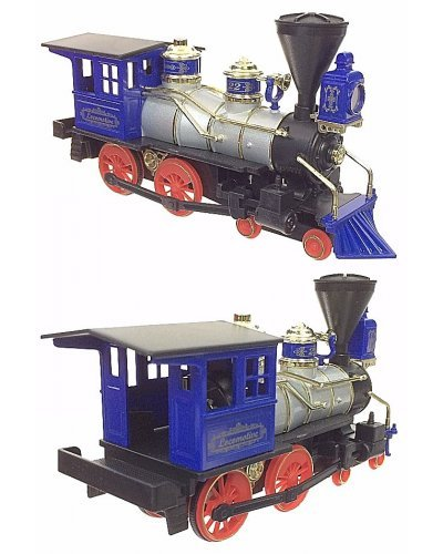Classic Locomotive Blue Train Toy