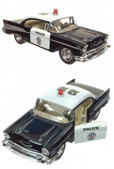 Police Car 1957 Black Bel Air