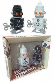 Salt and Pepper Racing Robots