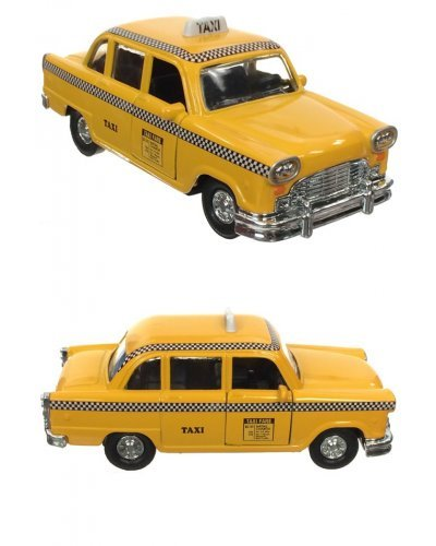 NYC Checker Taxi Die-Cast Cab 1950's