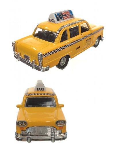 New York Yellow Checkered Cab Liberty Car