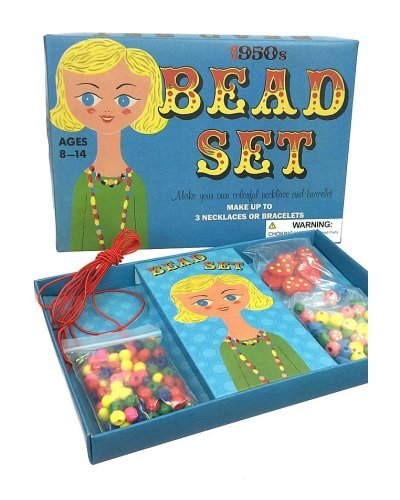 Bead Set Childrens Craft UK 1950