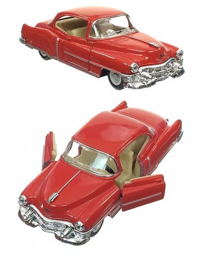 Cadillac 1953 Red Toy Car Die-Cast