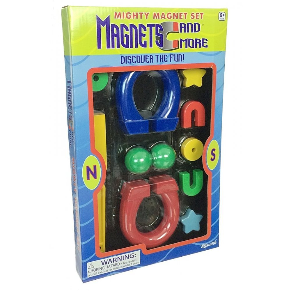 Magnets Kit Set of 11 : Science Toys : Magnetic Magic ...
