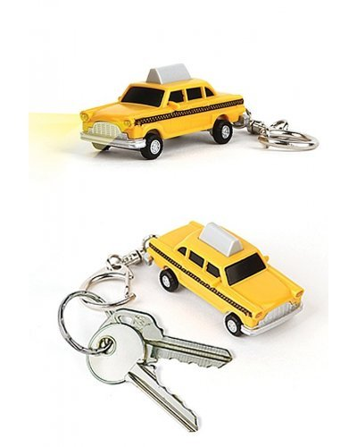Taxi LED Keyring Lights and Honking