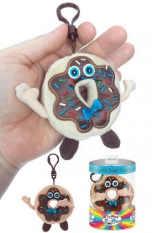Freddy Frosted Doughnut Backpack Clip