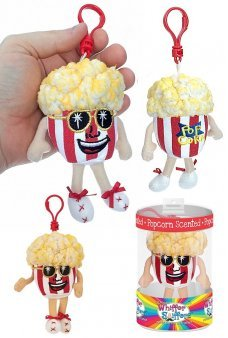 I B Poppin Popcorn Scented Backpack Clip