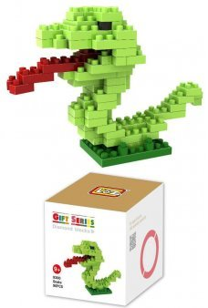 Snake Micro Blocks Nano Lego Loz Kit