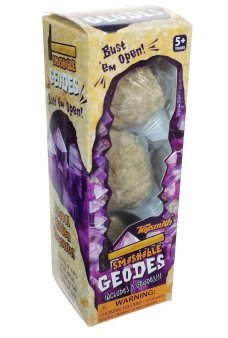 Smashable Geodes Crystals Science Kit