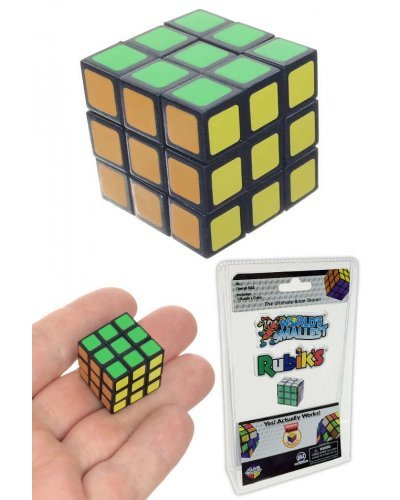 Rubik's Cube Puzzle World's Smallest