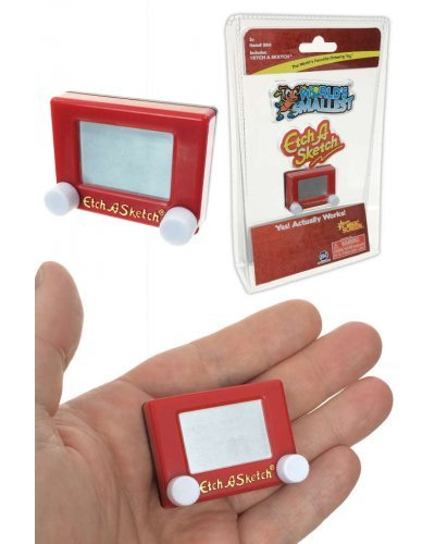 Etch A Sketch Mini World's Smallest