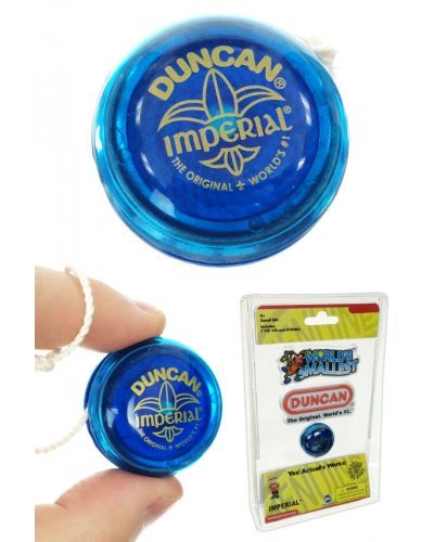 Duncan Imperial YoYo Blue World's Smallest