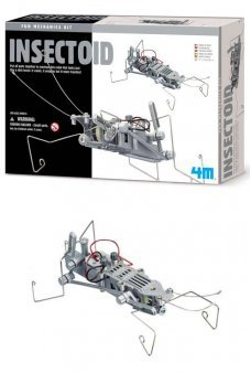 Insectoid Robot Kit Science Project 4M