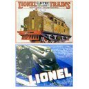 Lionel Train Cards 4 Styles Pre-War Set of 24