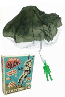Paratrooper Parachute Soldier Schylling Retro