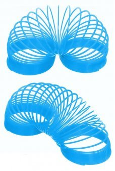 Blue Magic Spring Plastic Retro Schylling