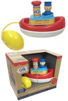 Fisher-Price Tuggy Tooter Water Tub Toy 1967