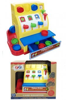 Cash Register Fisher Price Classic Toy 1975