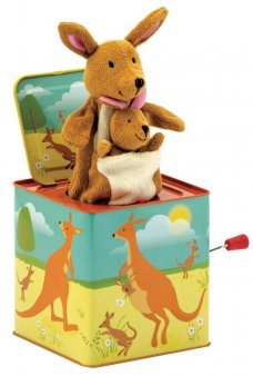 Kangaroo Jack in the Box with Finger Puppet