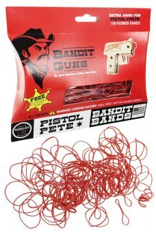 Pistol Pete Rubber Band Refills Bandit Bands