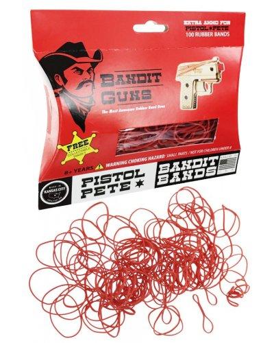 Pistol Pete Rubber Band Refills Bandit Bands