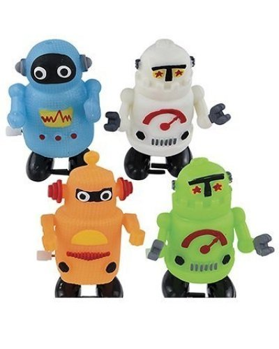 Windup Robots Dozen in Box