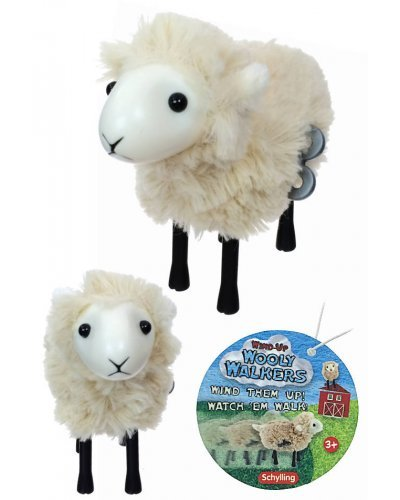 Wooly Walkers Wind Up Sheep Soft Lamb