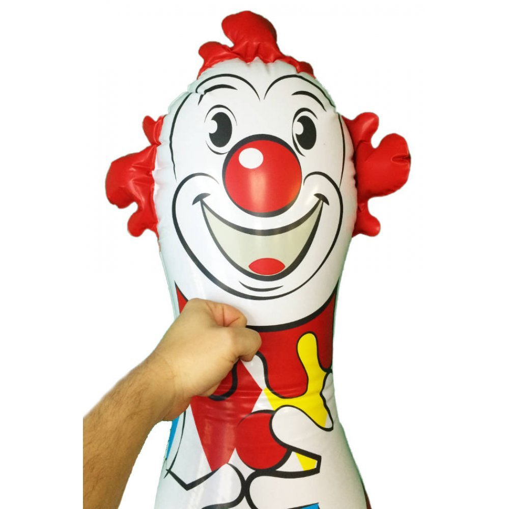 Clown Big Bop Bag Toy 40 Inch Inflatable Schylling Circus